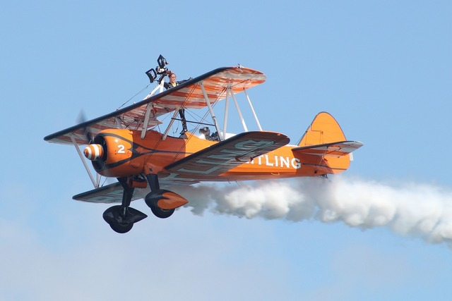 Breitling wingwalkers aircraft planes.