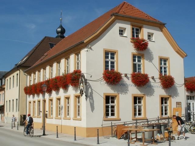 Brewery zum ritter schwetzingen, architecture buildings.