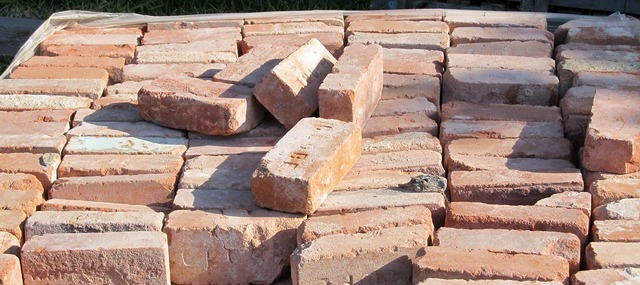 Bricks brickwork load, architecture buildings.