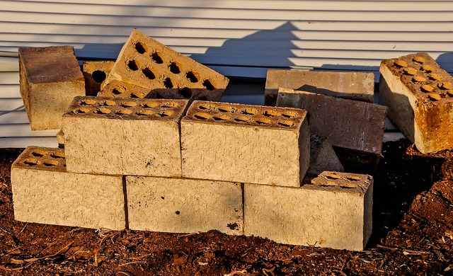 Bricks building construction, architecture buildings.