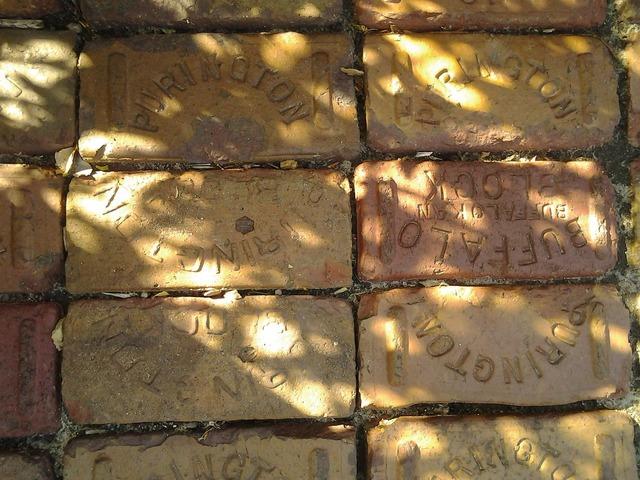 Bricks park memorial.