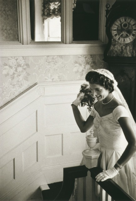 Bride jacqueline bouvier kennedy woman, beauty fashion.