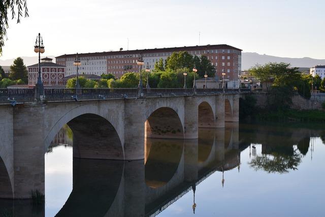 Bridge arc river.