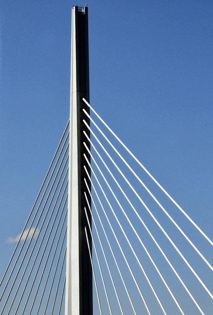 Bridge architecture millau bridge, architecture buildings.