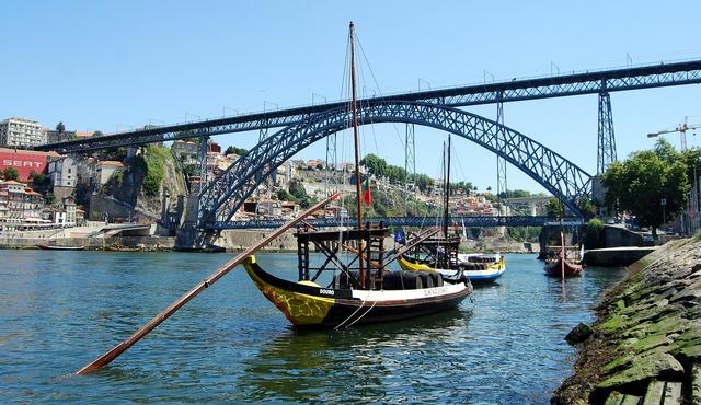 Bridge boat river.