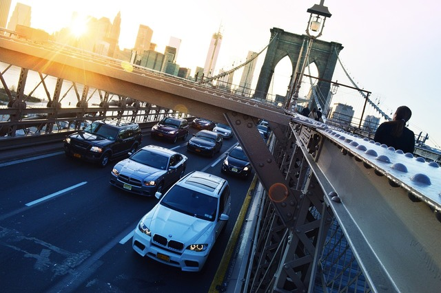 Bridge brooklyn rent a car, transportation traffic.