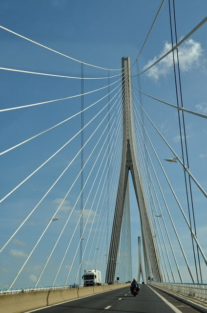 Bridge cable-stayed bridge cable.