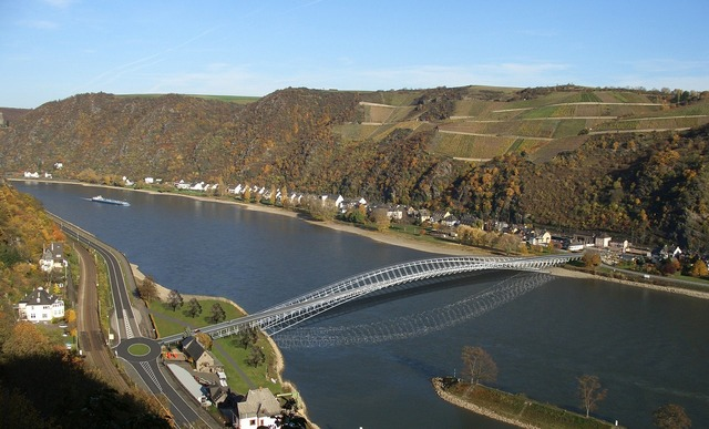 Bridge middle rhine bridge middle rhine.