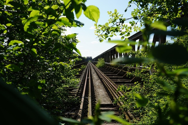 Bridge railway bridge old bridge, architecture buildings.