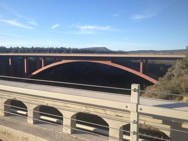 Bridge river landmark, places monuments.