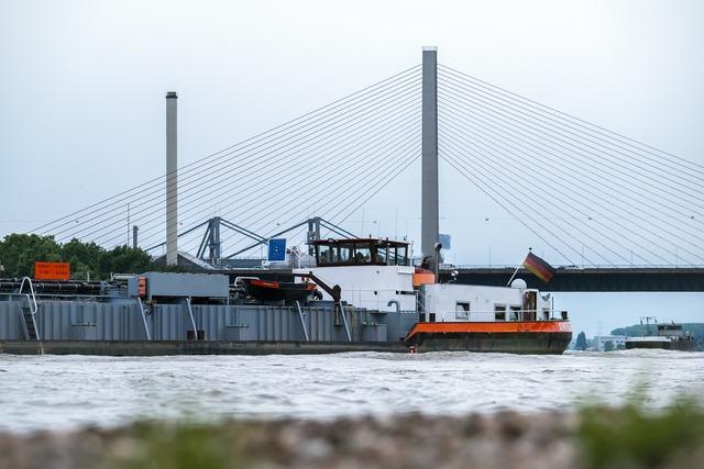 Bridge ship river.