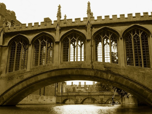 Bridge sighs cambridge, people.