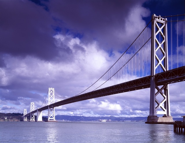 Bridge suspension bridge architecture, architecture buildings.