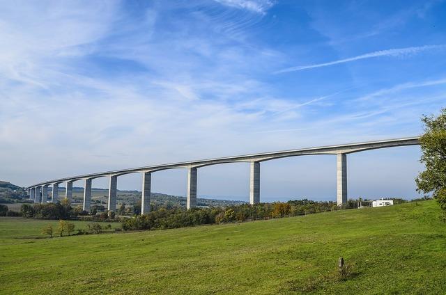 Bridge viaduct highway.