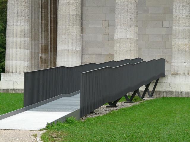 Bridge web railing, architecture buildings.
