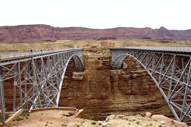 Bridges marble canyon arch.
