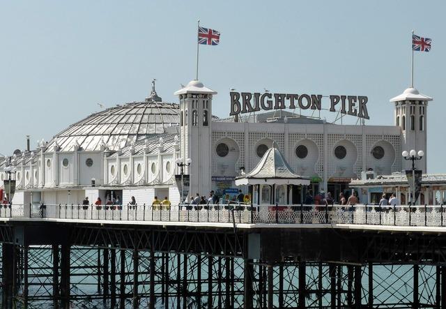 Brighton pier uk brighton, travel vacation.