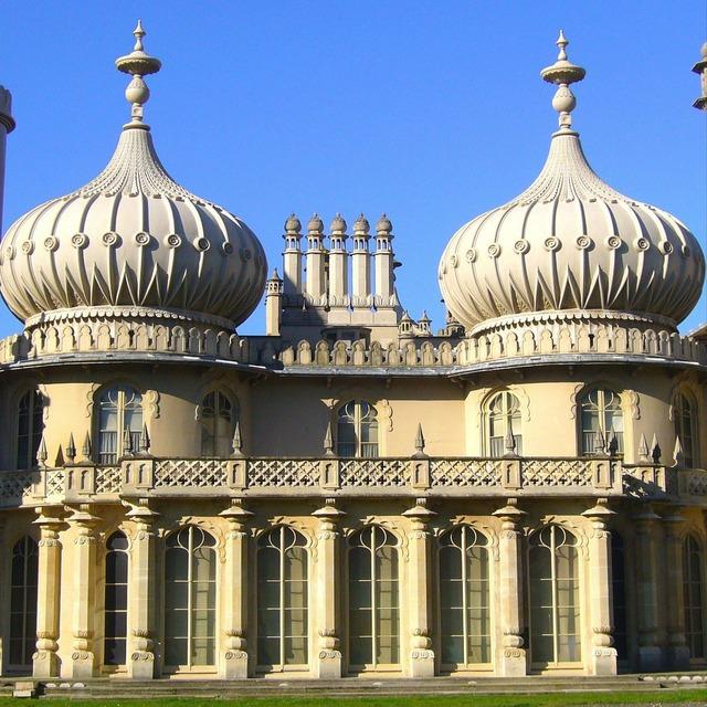 Brighton royal pavilion, architecture buildings.