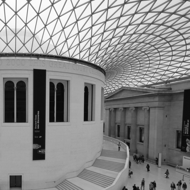 British museum london, architecture buildings.