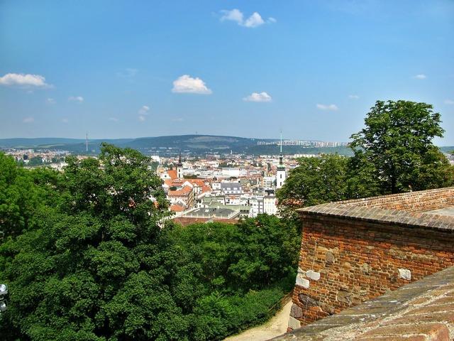 Brno fortress castle.