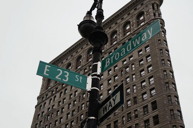 Broadway new york usa.
