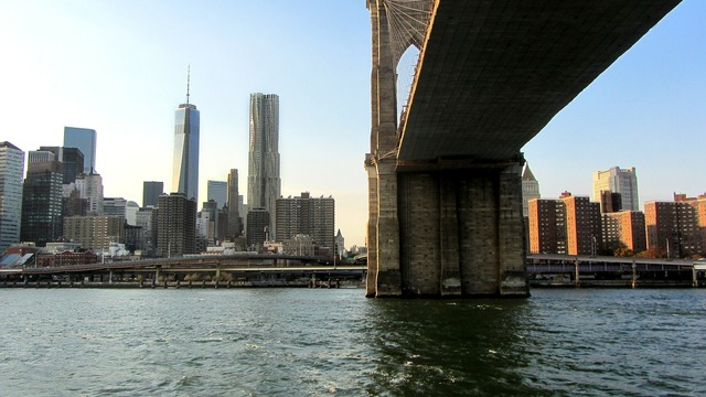 Brooklyn bridge new york city suspension bridge.