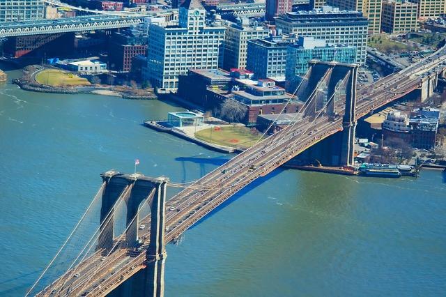 Brooklyn bridge new york new york city.