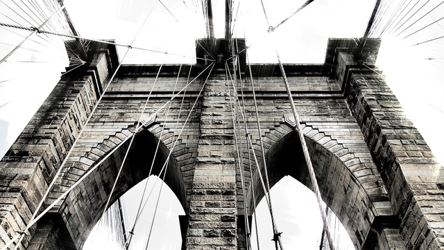 Brooklyn bridge new york places of interest, places monuments.