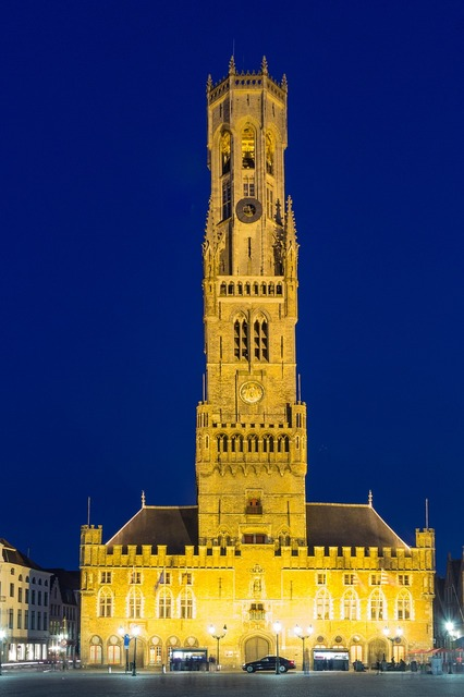 Bruges belfry belgium, architecture buildings.