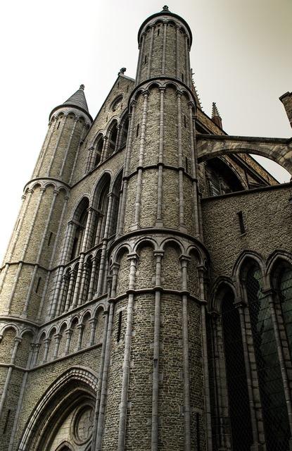 Bruges belgium buildings, places monuments.