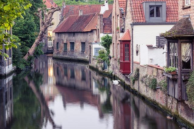 Bruges belgium channel.