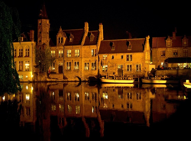 Bruges belgium old town.