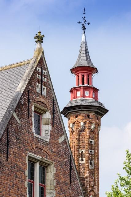 Bruges belgium tower, architecture buildings.