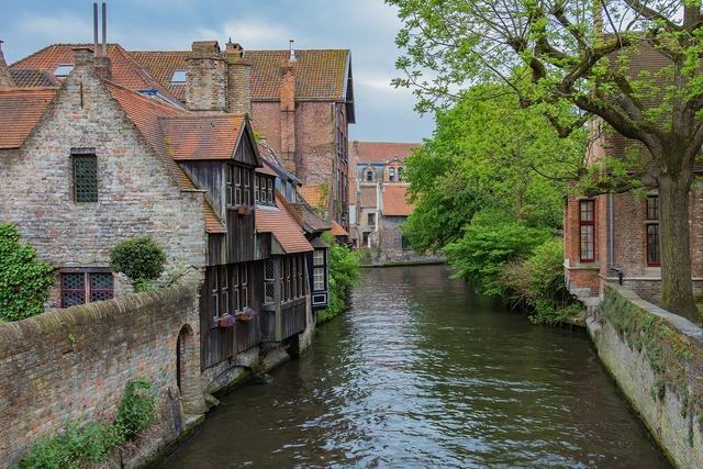 Bruges channel belgium.