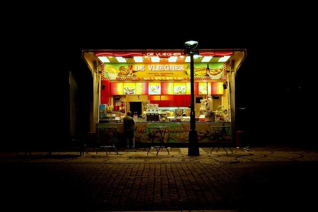 Bruges stall fries.