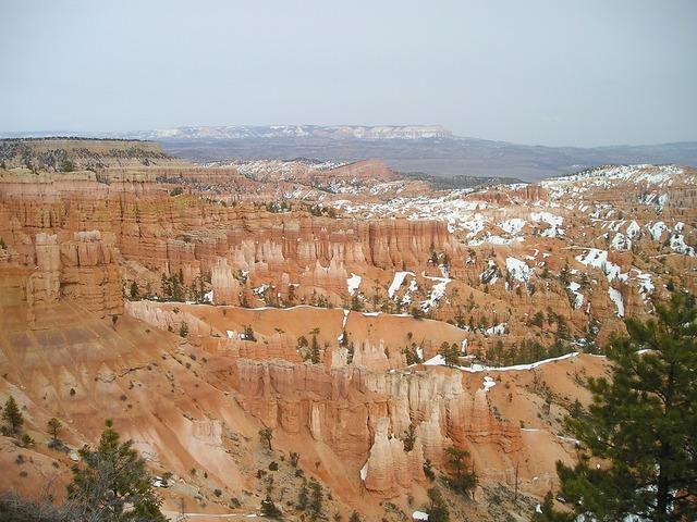 Bryce canyon canyon gorge.