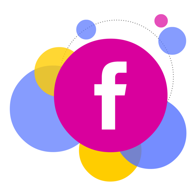 Bubbles facebook social media, computer communication.