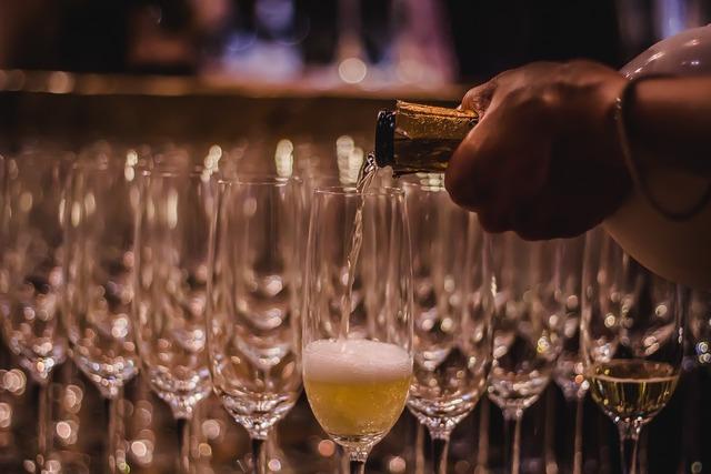 Bubbles sparkling sparkling wine.