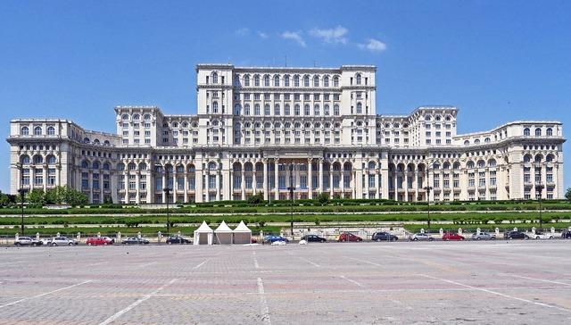 Bucharest parliament the palace bombastic, architecture buildings.