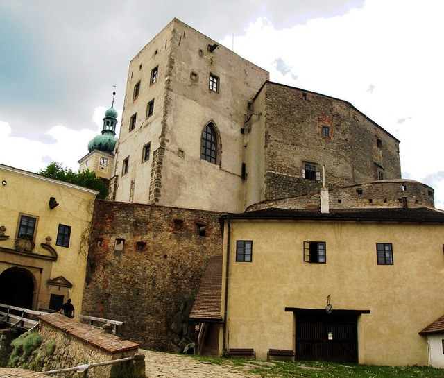 Buchlov castle strength, architecture buildings.