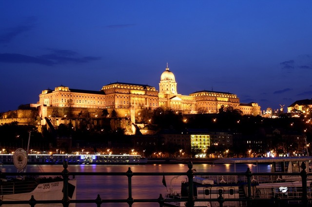 Buda castle danube river budapest, architecture buildings.