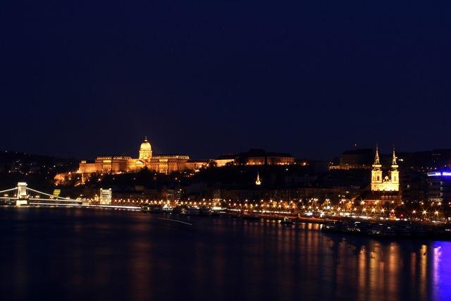 Buda castle danube river budapest, architecture buildings.