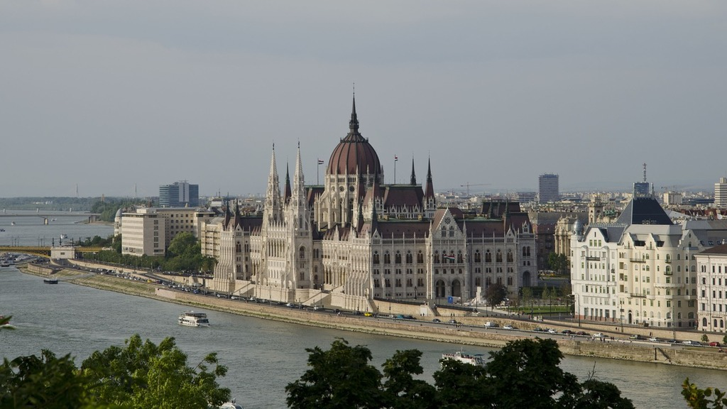Budap the parliament węgryt.