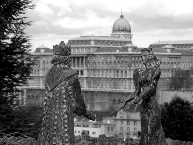 Budapest castle king.