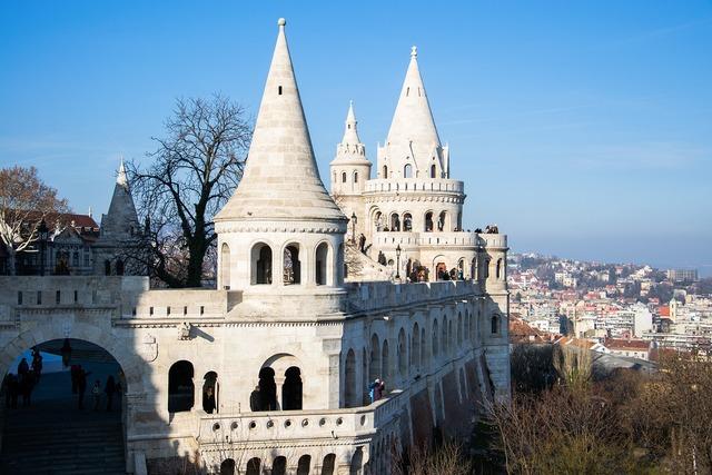 Budapest places of interest bastei, architecture buildings.