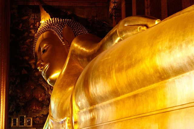 Buddha golden temple, religion.