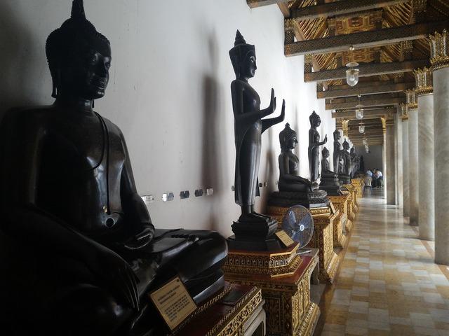 Buddha statue buddhism religion, religion.