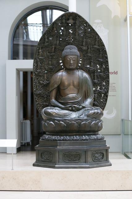 Buddha statue monument, religion.
