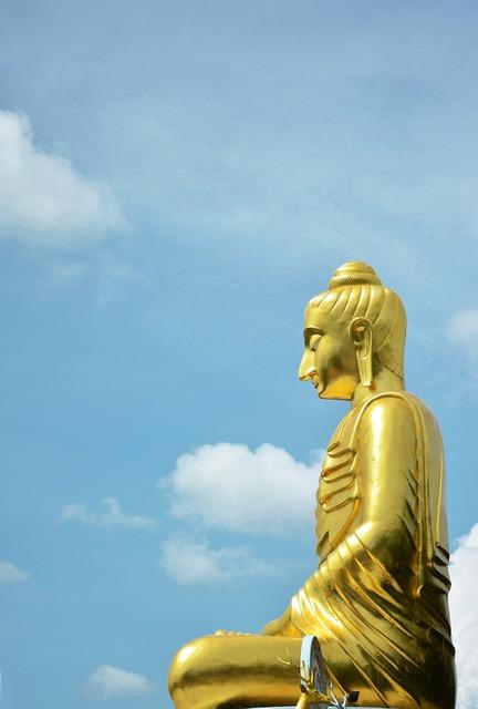 Buddha พระ statue, religion.