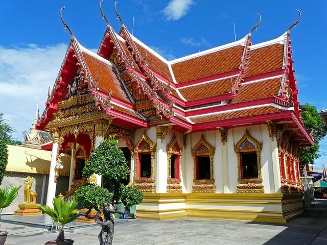 Buddhism temple thailand, religion.